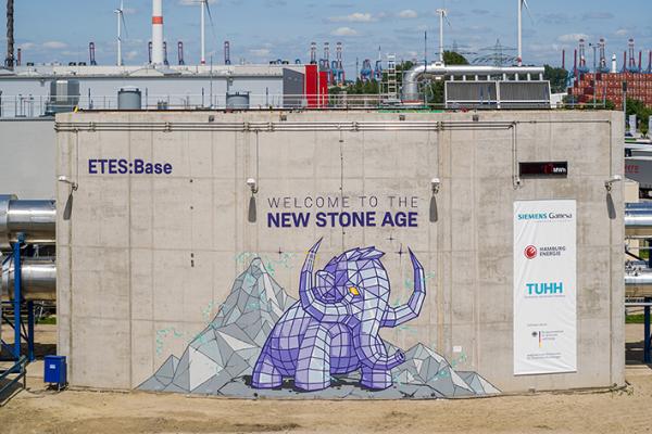 Innovativer Wärmespeicher: ETES-Anlage in Hamburg-Altenwerder