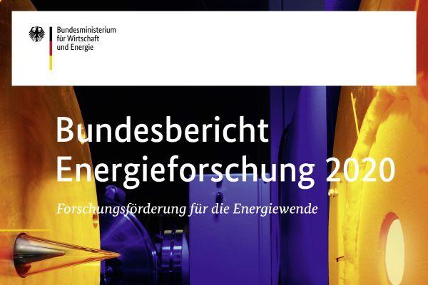 Bundesbericht Energieforschung 2020, Titelseite