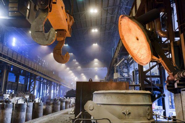 © GMH Gruppe / Einblick in das Stahlwerk Bous im Saarland