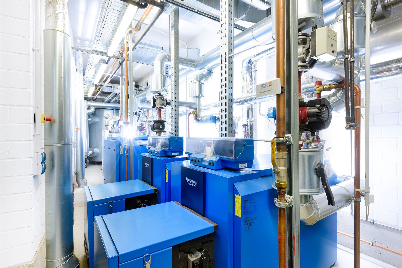 Anlage zur Kraft-Wärme-Kopplung